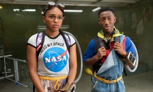 Eden Duncan-Smith and Danté Crichlow in See You Yesterday