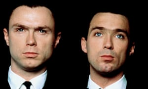 The brothers in The Krays.