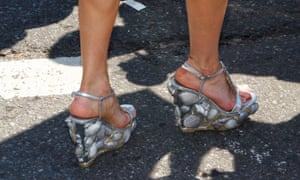 Attention to detail - shell-encrusted wedges