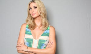 Ivanka Trump: 'Skeptics may say that nepotism and money have spurred her success'.