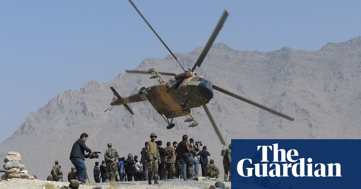 Taliban have captured more than 100 military helicopters, Russia says