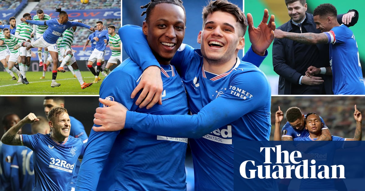 Its incomparable – Rangers fans journey from Brechin to another title