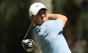 Rory McIlroy shot 65 in the second round