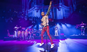 Roots music … Wizkid at Royal Albert Hall, London.