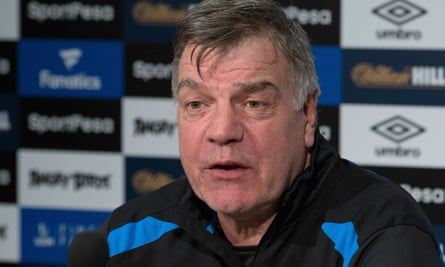 Sam Allardyce, the Everton manager, visited a food bank on Thursday and finds it extremely depressing that they need to exist in a country of this magnitude.