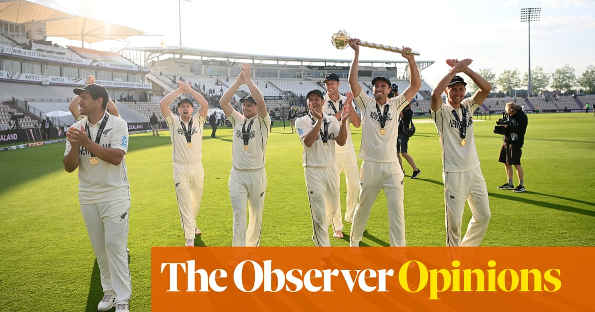 New Zealand robbed of home victory parade but WTC is worth celebrating | Ali Martin