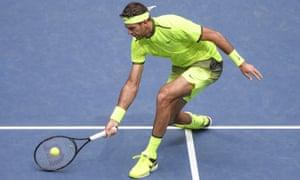 Juan Martin del Potro at the US Open.