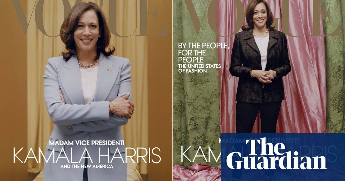 Anna Wintour defends Vogues controversial Kamala Harris cover