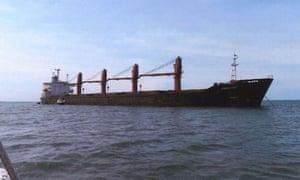 The Wise Honest, a North Korean cargo ship