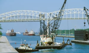90% of the world's iron ore passes through Soo Locks