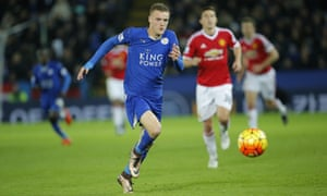 Jamie Vardy's speed has formed the basis of Leicester's attacking tactics.