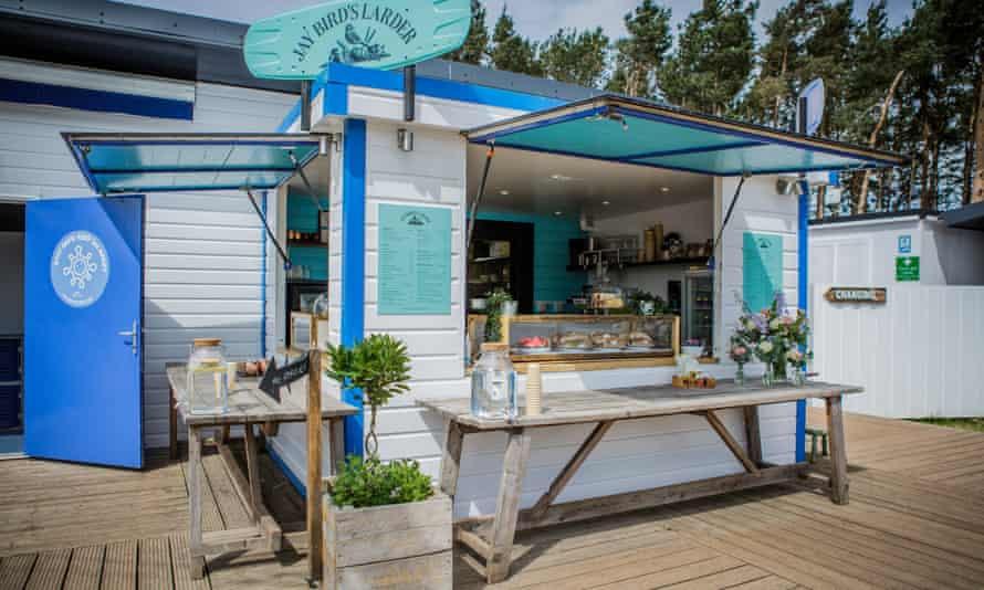 Jay Bird's Larder cafe in East Lothian