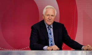 David Dimbleby has not been seen on screen since retiring from Question Time at the end of 2018.