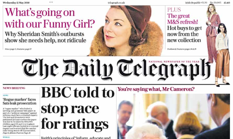 Several senior staff are to depart as part of restructuring at the Daily Telegraph