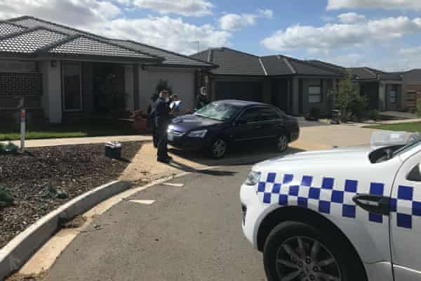 The scene of a party in Werribee in which heavily armed riot police had to be called in.
