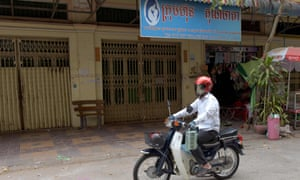 The offices of Ambrosia Labs in the Stung Meanchey neighborhood of Phnom Penh, Cambodia.