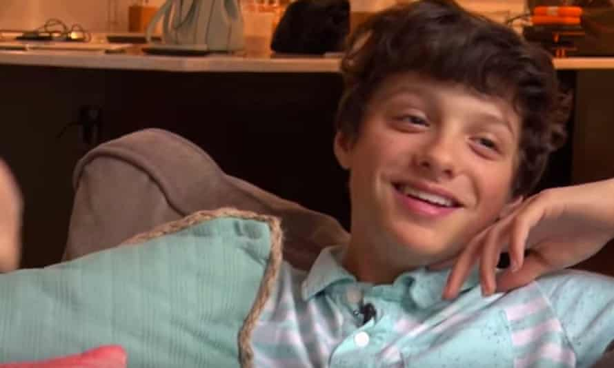 Caleb Bratayley, who has died aged 13, of a sudden medical condition.
