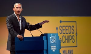 Obama in Italy.