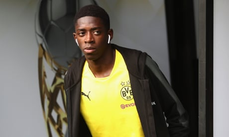 Barcelona sign Ousmane Dembélé from Borussia Dortmund for initial £97m