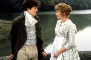 Grant with Emma Thompson in Sense and Sensibility