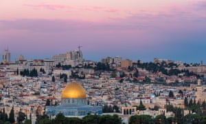 'Honesty in golden prose': Jerusalem, Stagg's destination.