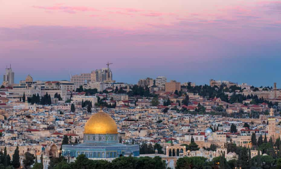 'Honesty in golden prose': Jerusalem, Stagg's destination.