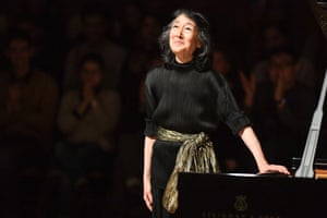 Mitsuko Uchida at the Royal Festival Hall.