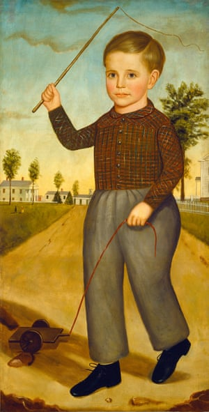 Charles H Sisson - Joseph Goodhue Chandler.   The parents of Charles H Sisson lost four of their eight children at young ages, including Charles at the age of three. This four foot high portrait was a reminder of his life, hung at the family home.