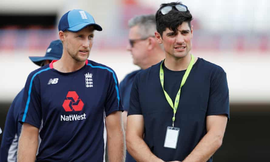 Cook has been working in a media role but is still close to the England team and his successor as England captain, Joe Root.