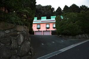 Kyushu, Pink Castle Hotel, Saga, 2016