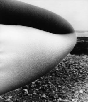 1958East Sussex Coast by Bill Brandt.