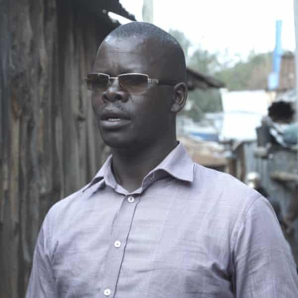 Ex-disciple gang member Issac.