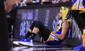 Moving forward, the Warriors will be playing close attention to the health of Steph Curry's right ankle