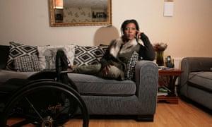 Paralympic athlete Anne Wafula Strike.