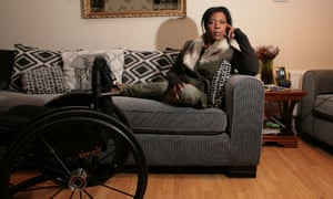 Paralympian Anne Wafula Strike