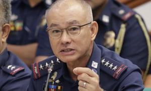 Philippine national police chief General Oscar Albayalde