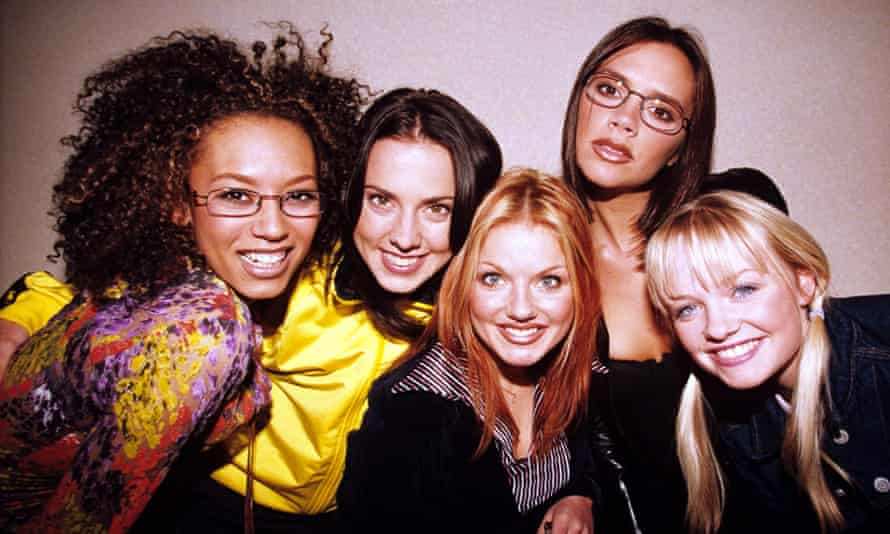 Say you'll be there... The Spice Girls in their 90s heyday.