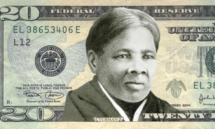 The US treasury is to put anti-slavery campaigner Harriet Tubman's portrait on $20 bill. But some in America have objected to her stern face.