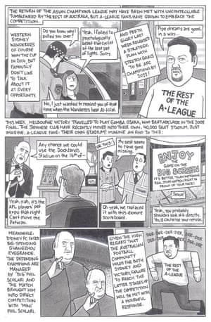 David Squires on A-League clubs playing in the Asian Champions League.