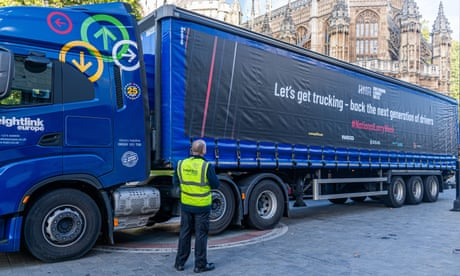 'It seems impenetrable': the trials of HGV training
