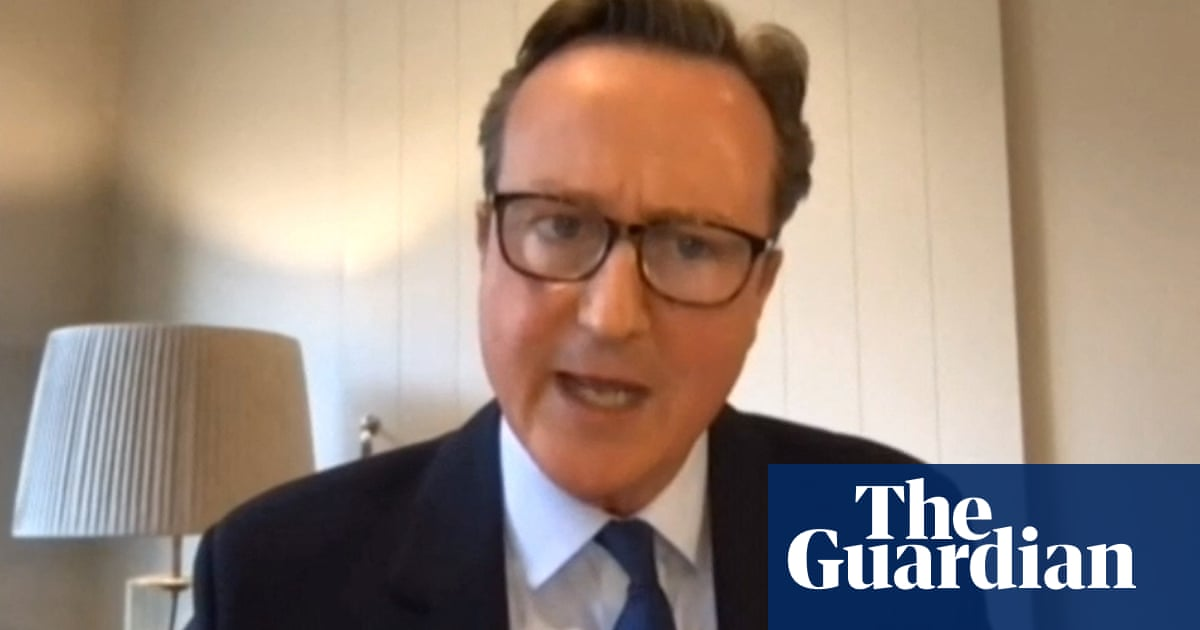 Greensill lobbying leaves your reputation in tatters, Cameron told