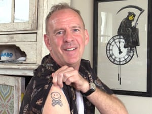 Norman Cook's tattoo.