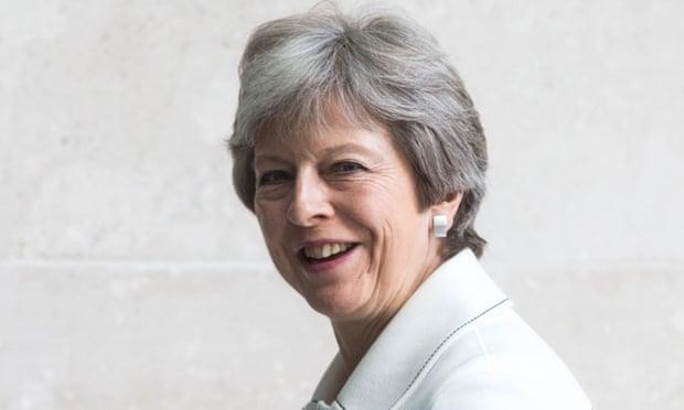 theguardian.com - Dan Sabbagh - Theresa May: Donald Trump told me to sue the EU