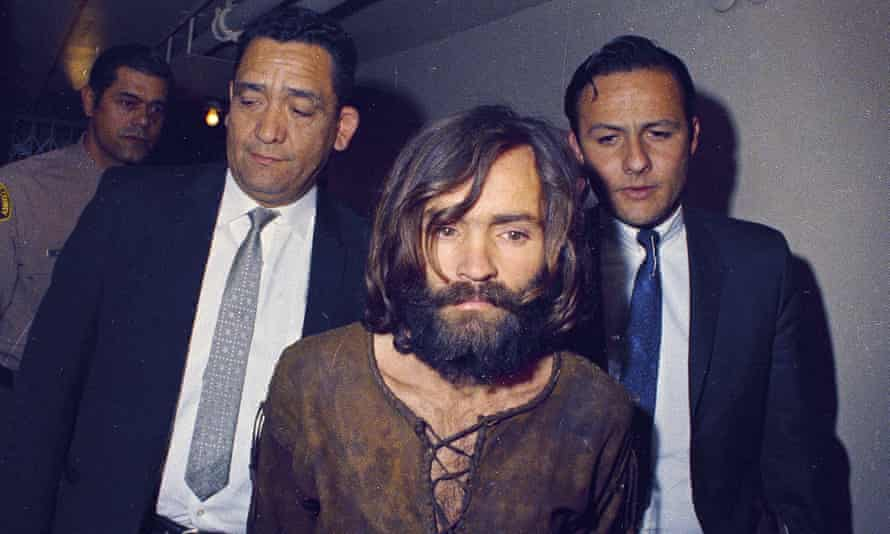 MansonCharles Manson on his way to court in December 1969
