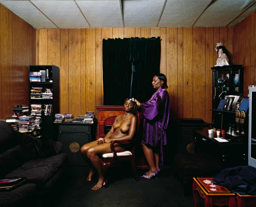 Deana Lawson, Greased Scalp, 2010; from Deana Lawson: An Aperture Monograph (Aperture, 2018)