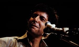 Cohen performing in Denmark in 1972.
