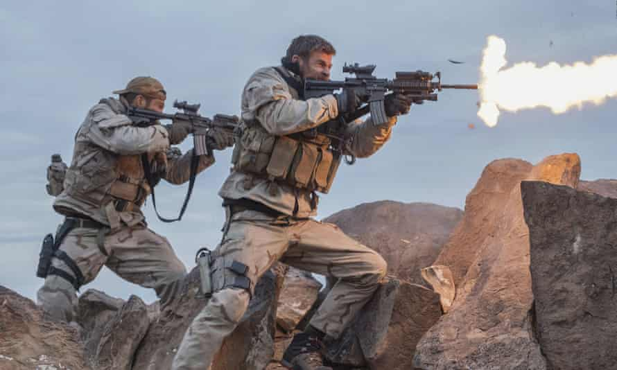 Chris Hemsworth in the film 12 Strong