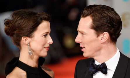 Benedict Cumberbatch and his wife, Sophie Hunter.