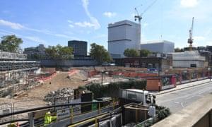 HS2 construction site