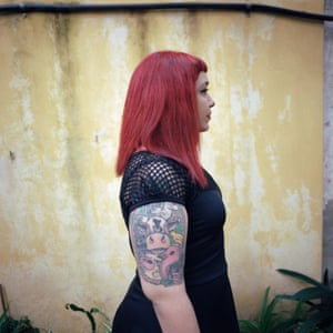 Nadia Karenina, 29, had two illegal abortions, one when she was 17 and the other when she was 27. She is a sex worker and artist.